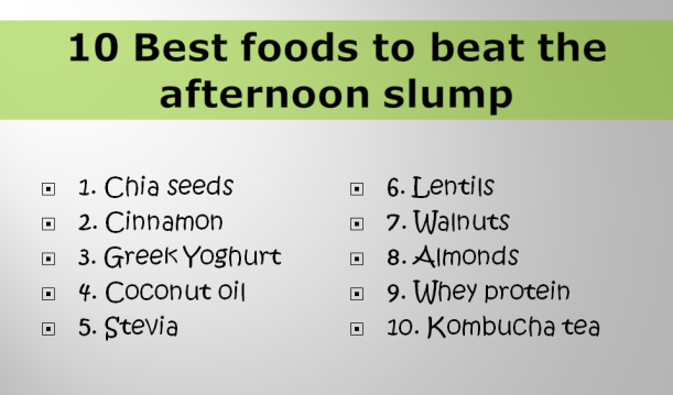10-foods-to-beat-afternoon-slump